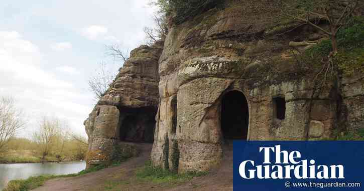 Derbyshire cave house identified as ninth-century home to exiled king