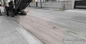 Lavori di asfaltatura a Campoformido - Il Friuli