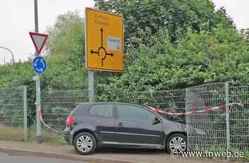 Mit Promille am Steuer einen Unfall gebaut - Fränkische Nachrichten