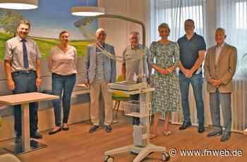 Mobiles EKG-Gerät für das Krankenhaus Hardheim - Fränkische Nachrichten