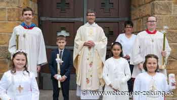 Erstkommunion mit sieben Kindern - Wetterauer Zeitung