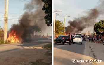 Mulher morre carbonizada em acidente na RJ-102, em Arraial do Cabo - O Dia