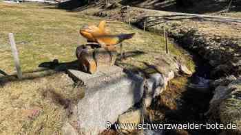 Schnitzkunst am Wegesrand - Wanderung auf dem Figurenweg in Neukirch - Schwarzwälder Bote
