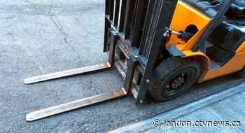 Teen injured in forklift mishap near Palmerston, Ont. - CTV News London