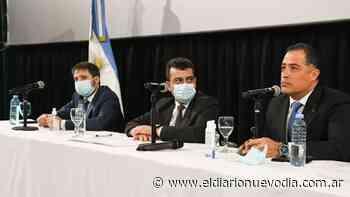 Quiroga participó del acto institucional por el 137º Aniversario de Puerto Deseado - El Diario Nuevo Dia
