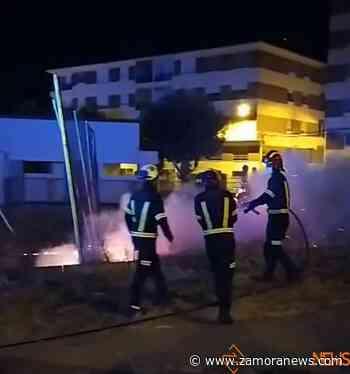 Conato de incendio nocturno en San José Obrero - Zamora News