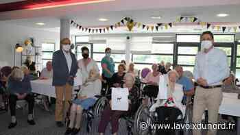 Linselles: trois centenaires fêtées aux «Jardins des Sens» - La Voix du Nord