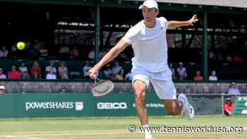 Ivo Karlovic 'happy' to be back to Newport and start tournament with comeback win - Tennis World USA