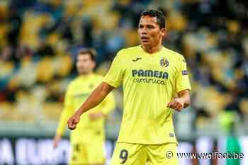 Carlos Bacca, laissé libre par Villarreal, rebondit en Liga - Walfoot.be