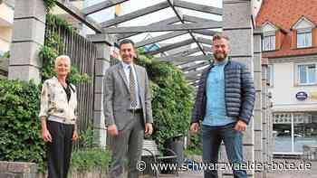 Donaueschingen geht öffentlich online - Am Hanselbrunnen sprudeln jetzt auch die Bytes - Schwarzwälder Bote