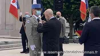 Cérémonie : Boulogne-sur-Mer: le caporal-chef François Perrot décoré de l'Insigne des blessés de guerre - La Semaine dans le Boulonnais