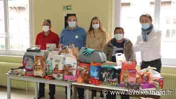 Auchel : au lycée Lavoisier, la collecte pour l'Arche du 62 est terminée - La Voix du Nord