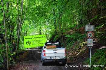 So sieht es am Fuß der gesperrten Marienschlucht und den Wegen aus | SÜDKURIER Online - SÜDKURIER Online