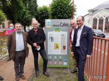 Elbeuf : La Ville rend hommage au bédéiste Calvo et inaugure un square proche de sa maison natale - actu.fr