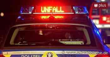 Unfall A81 Geisingen: Mann rettet sich, ehe LKW in Auto kracht - Schwäbische