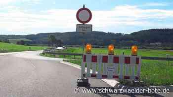 Verkehrsbehinderungen bei Blumberg - Straße nach Geisingen ist gesperrt - Schwarzwälder Bote
