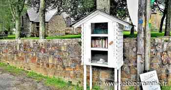 À Plougastel-Daoulas, une boîte à livre symbole du renouveau du village de Sainte Christine - Le Télégramme