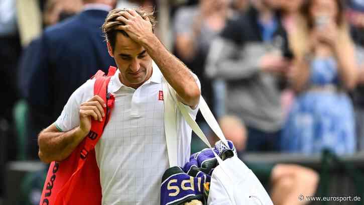Roger Federer erneut am Knie verletzt: Dem Maestro droht ein unschöner Abschied durch die Hintertür - Eurosport DE