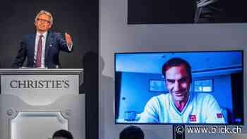 Roger Federer mit Auktion von Kleidung – über 4 Millionen für guten Zweck - BLICK Sport