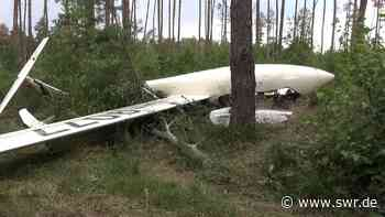 Segelflugzeug bei Bad Breisig abgestürzt - SWR