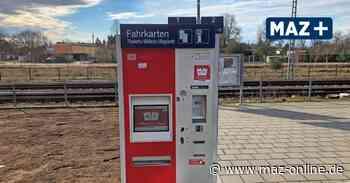 Wittstock: Weiter kein Fahrkartenschalter am Bahnhof - Märkische Allgemeine Zeitung