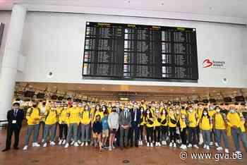 En weg zijn ze: olympiërs verzamelen in Zaventem voor vertrek naar Tokio - Gazet van Antwerpen