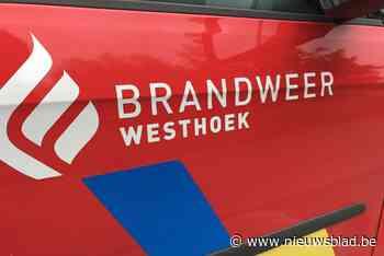 Brandweer Westhoek vertrokken met reserve-autopomp naar wateroverlast in Tienen