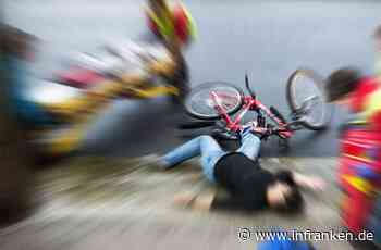 Estenfeld: Radfahrer verletzt sich bei Unfall schwer - Traktorfahrer findet ihn auf Straße
