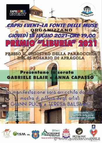 Premio Liburia 2021, questa sera ad Afragola la cerimonia annuale - quotidianonapoli.it - Quotidiano Napoli