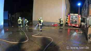 Feuerwehr beginnt Aufräumarbeiten in Kordel - SWR