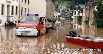 Hochwasser Kyll Kordel Rekordpegel Überschwemmung Häuser - Trierischer Volksfreund