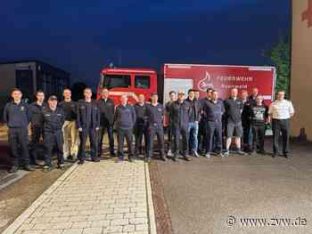 Marschbefehl zum Hochwassergebiet nach Hermeskeil: Welzheimer Feuerwehr hilft mit - Welzheim - Zeitungsverlag Waiblingen - Zeitungsverlag Waiblingen