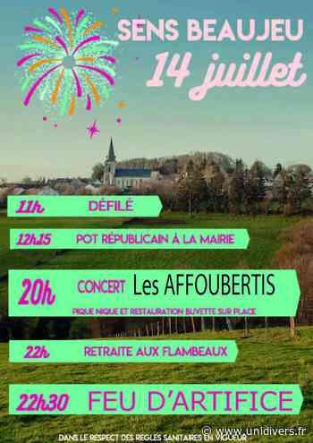 Fête nationale Sens-Beaujeu mercredi 14 juillet 2021 - Unidivers