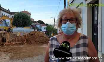 Obras na Calçada de Santa Isabel perturbam moradores e negócios há mais de um ano (com vídeos) - Notícias de Coimbra
