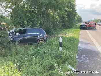 A6 nach Unfall bei Neuenstein stundenlang gesperrt - Heilbronner Stimme