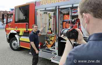 Neues Löschfahrzeug: Feuerwehr in Weinstadt schult Einsatzkräfte wegen Corona per Video - Weinstadt - Zeitungsverlag Waiblingen - Zeitungsverlag Waiblingen