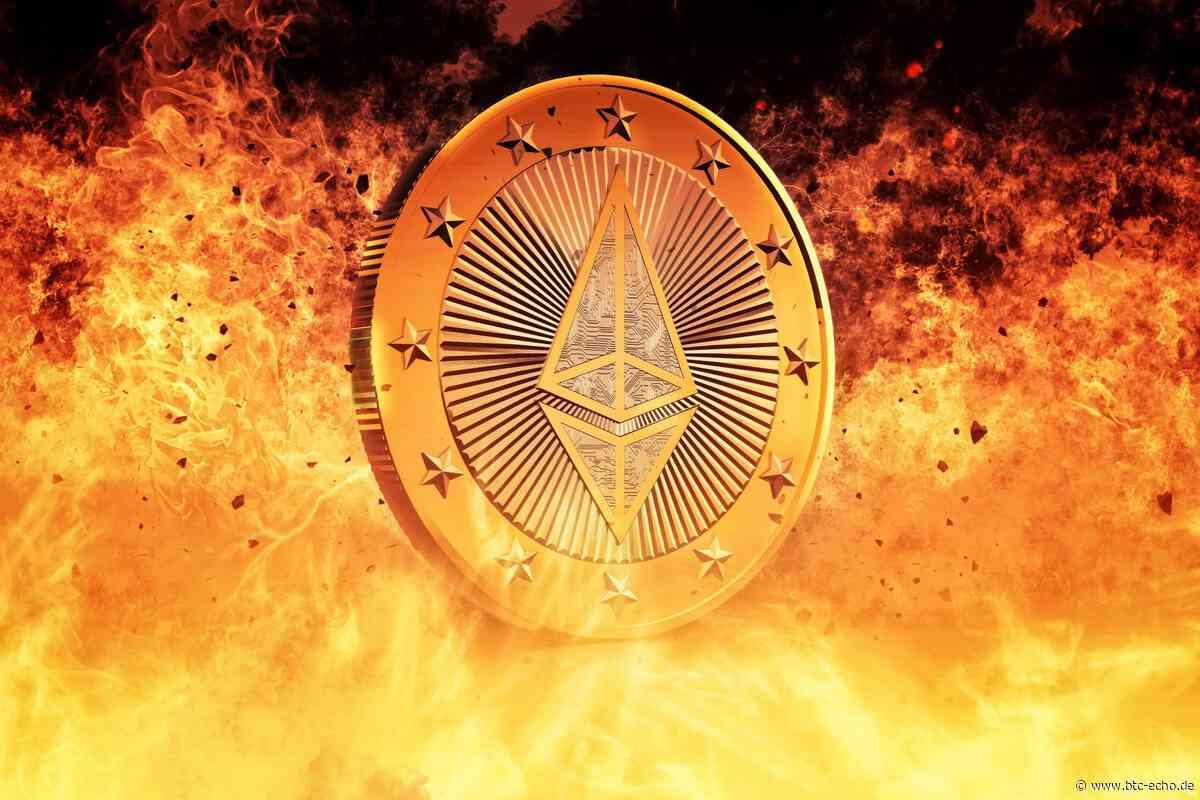 40.000 Ethereum von einer Exchange abgezogen – ETH wird knapp - BTC-ECHO | Bitcoin & Blockchain Pioneers