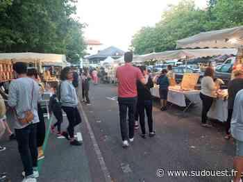 Anglet : le marché nocturne reprend ses aises à Quintaou - Sud Ouest