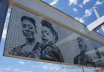 Artwork installed at future Downtown Inglewood Station - metro.net