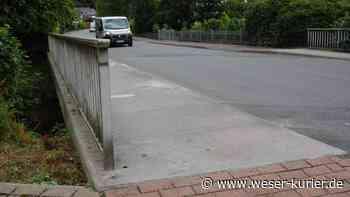 Brückensanierung: Stadt Syke baut am Hachedamm - WESER-KURIER - WESER-KURIER