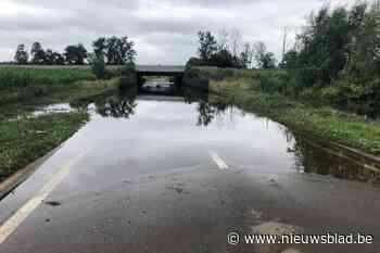 Ingrepen gepland om wateroverlast te verminderen