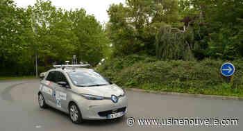 Rond-point, faible visibilité, véhicule mal garé... À Rambouillet, la voiture autonome se frotte aux cas complexes - L'Usine Nouvelle