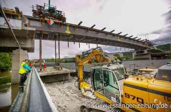 Abriss der Schleyer-Brücke - Das Gröbste ist geschafft - esslinger-zeitung.de