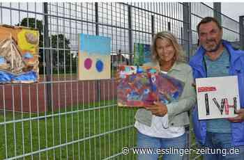 Vereinsaktion in Esslingen - Eine kleine Kunst-Kampagne - esslinger-zeitung.de