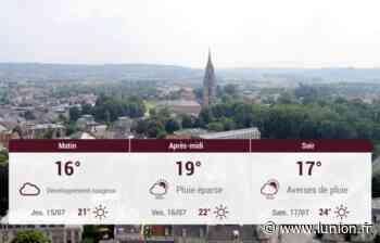 Soissons et ses environs : météo du mercredi 14 juillet - L'Union