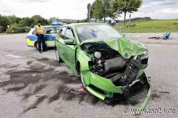 Ein Schwerverletzter nach heftigem Crash in Dohna - TAG24