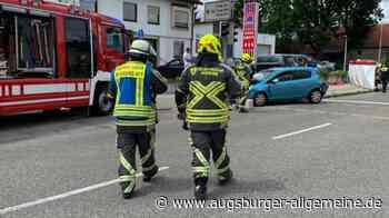 Herzinfarkt? 48-Jährige verursacht Unfall mit mehreren Fahrzeugen - Augsburger Allgemeine