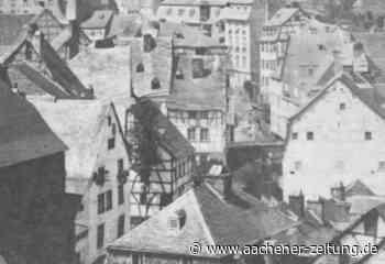 """Archivale des Monats: """"Sah durchs Fenster ein Flackern"""" – die Brandkatastrophe von Monschau - Aachener Zeitung"""