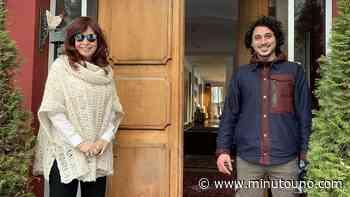 Cristina Kirchner sorprendió a un militante en El Calafate - Minutouno.com
