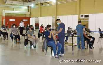 EL CALAFATE. Más de 1.100 jóvenes recibieron la primera vacuna contra Covid-19 - FM Dimensión - El Calafate